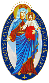 Saint Mary's Catholic Church & Lady of the Lake Catholic Church Logo